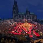 Bild: Weihnachtsmarkt am Kölner Dom